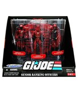 G.I. Joe 25th Anniversary: Senior Ranking Officers Action Figure 3-Pack:... - $86.63