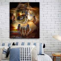 5D Diamond Painting Two Bears Cross Stitch DIY Resin Paintings Home Decor - $11.97
