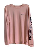 Columbia Men's Size Large Coral Long Sleeve Shirt Omni-Shade - $44.97