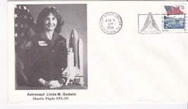 Astronaut Linda M. Godwin STS-59 Launch Kennedy Space Center, Florida 4/9/1994 - $1.78