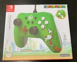 Nintendo Switch Yoshi Edition Wired Controller PowerA - 1506257-2 Super ... - $22.27