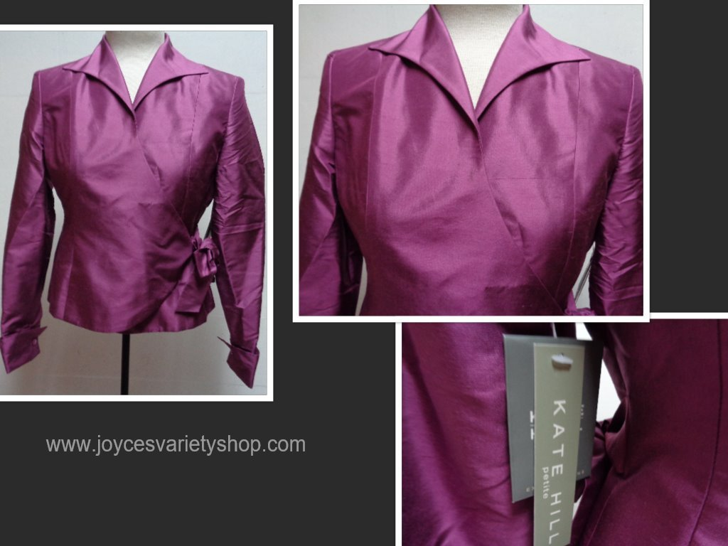 Kate hill silk blouse collage
