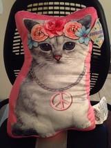 NWT COMFORT CAT Original Cash Show Mobile App Mascot Full Size Plush Pillow - $24.75