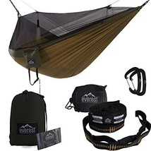 Everest Double Camping Hammock with Mosquito Net | Bug-Free Camping, Bac... - $64.48