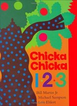 Chicka Chicka 1, 2, 3 [Hardcover] Bill Martin Jr.; Michael Sampson and L... - $11.87