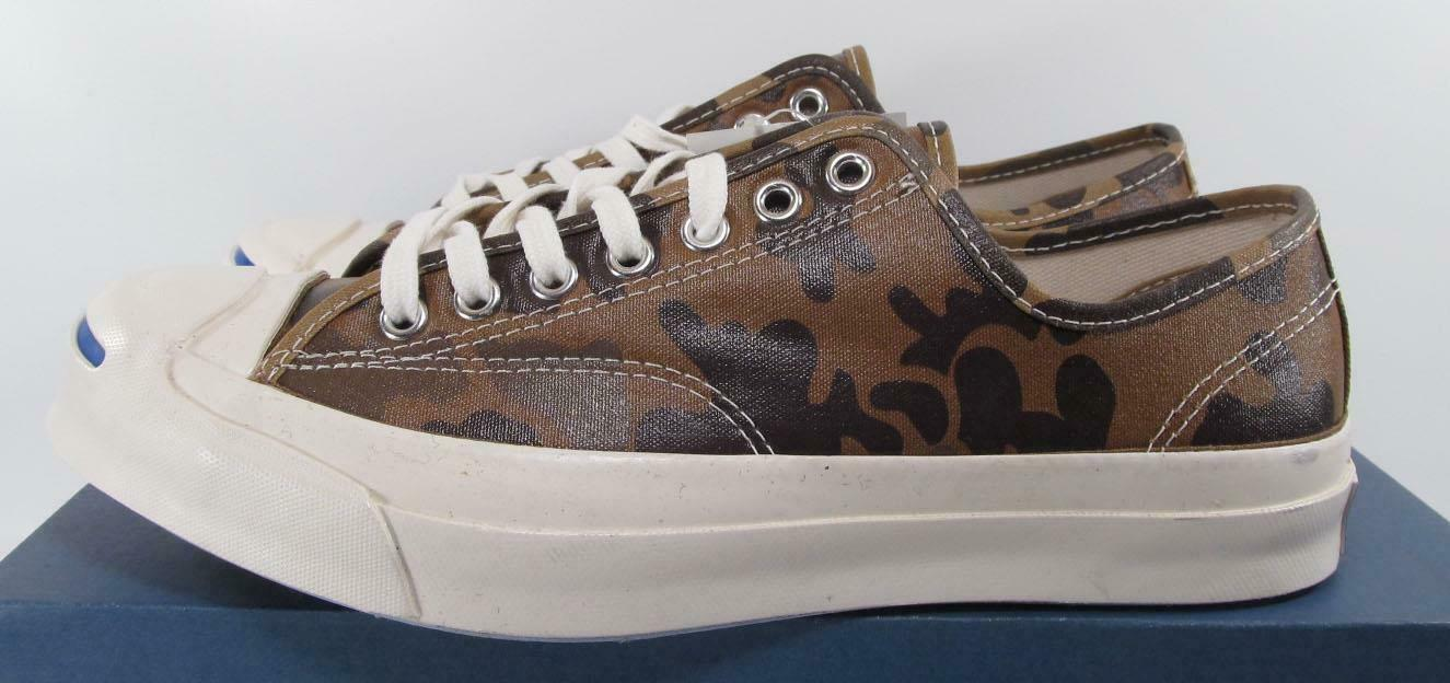 Converse Jack Purcell Signature Ox SAND DUNE CAMO Waxed Nylon 151457C (7 MEN) image 3