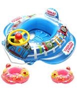 Thomas Baby Kid Toddler Boy Girl Swim Pool Boat Ring Raft Float Tube Walker Seat - $25.80