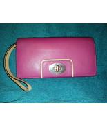 kate spade New York Pink leather wallet wristlet - $20.00