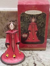 STAR WARS Episode 1 HALLMARK Keepsake Ornament QUEEN AMIDALA Christmas 1999 - $10.77