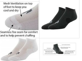 Pree Premium Technical Low-Cut Running Socks for Adults (2 or 6 pack)   - $7.89+
