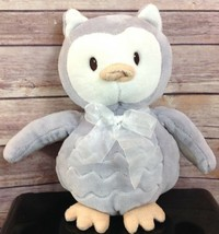 """Little Miracles OWL Gray Lavender 10"""" Ultra Soft Plush COSTCO Stuffed An... - $16.82"""