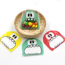 100 Pcs Self Adhesive Cookie Candy Package Gift Bags - €6,72 EUR
