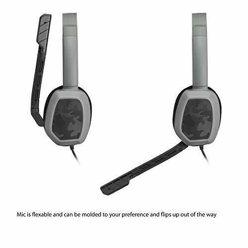 PDP Xbox One LVL 1 Chat Gaming Headset Grey Camo image 6