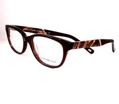 Carmen Marc Valvo Eyeglasses Felicia Truffle Brown Women Plastic 51-17-142 - $98.98
