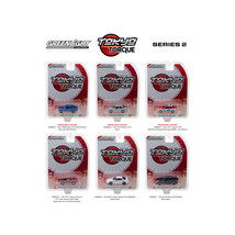 Tokyo Torque Series Release 2 Set of 6pcs 1/64 Diecast Model Cars by Gre... - $47.20
