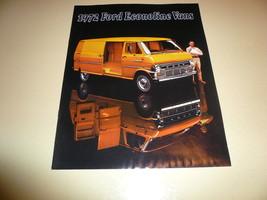 1972 Ford Econoline Vans Sales Brochure - Vintage - $7.84