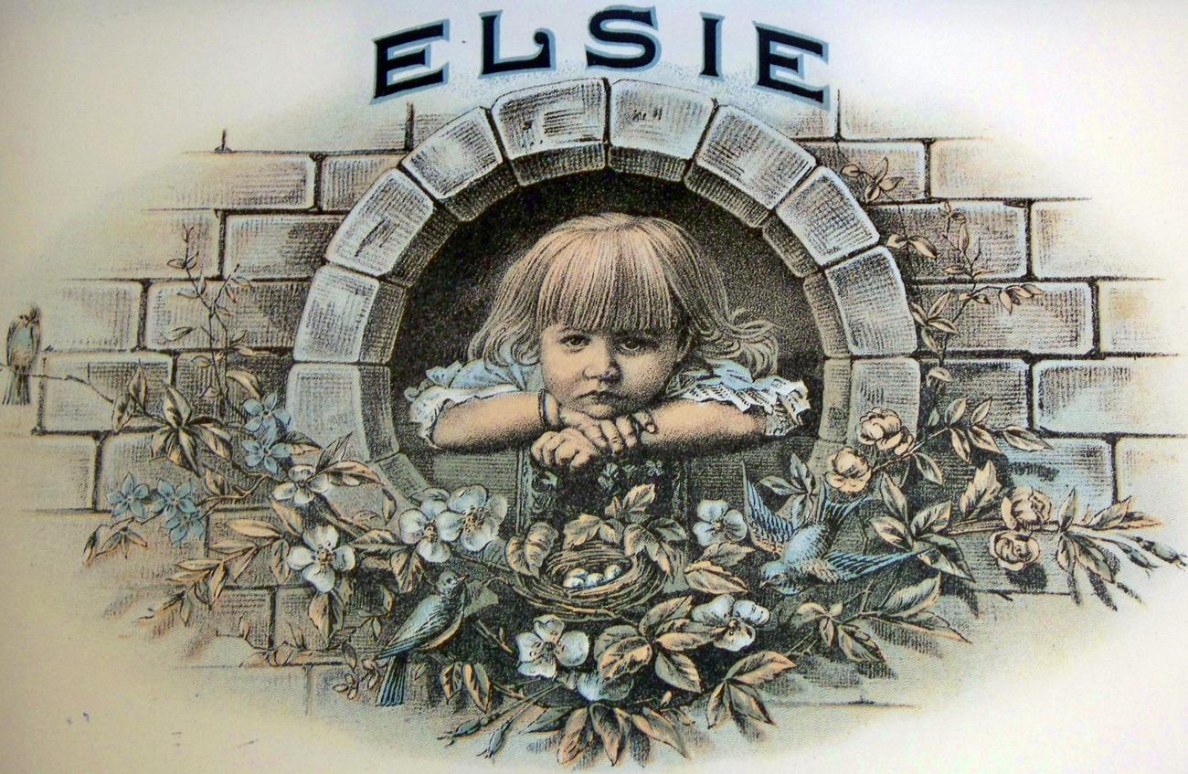 Elsie cigar label 002
