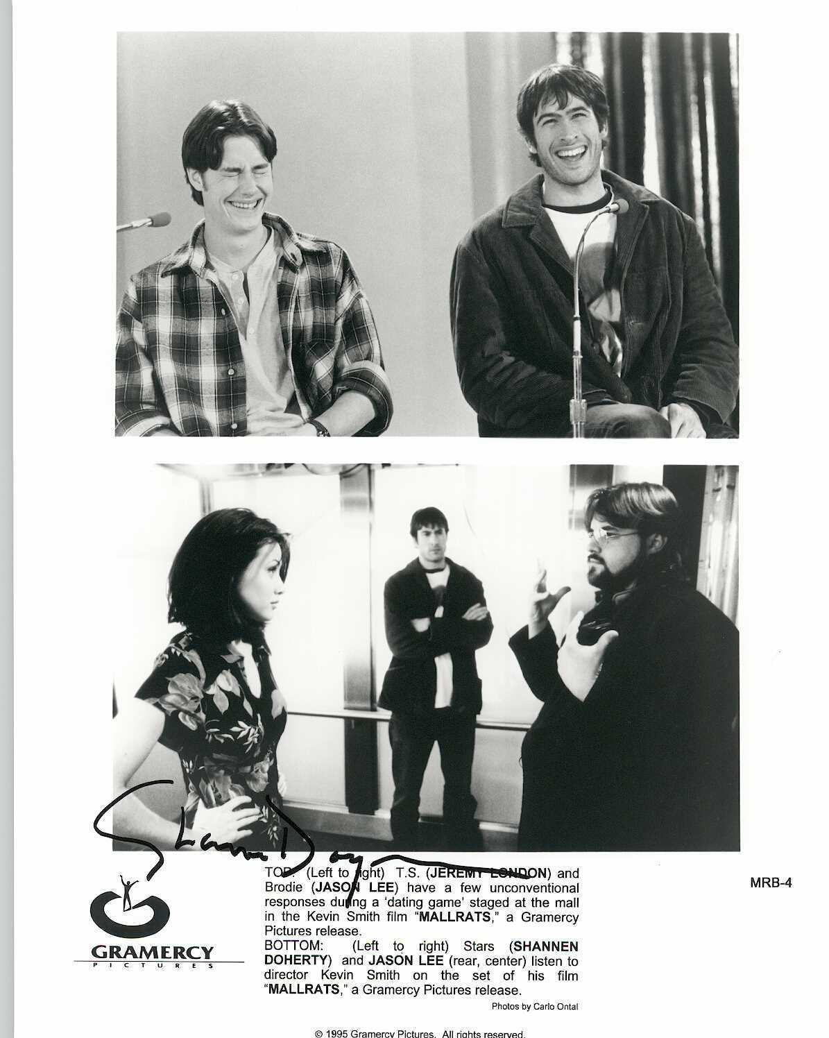 "Primary image for Shannen Doherty Signed Autographed ""Mallrats"" Glossy 8x10 Photo"