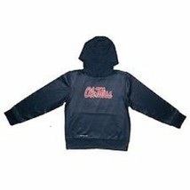 NIKE NCAA Ole Miss Rebels YOUTH MED Hoodie Therma Fit Hooded Sweatshirt NEW - $45.97