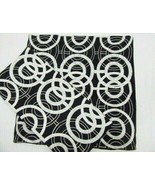 Pier 1 Imports Circle Beaded Black White 18-inch Square Pillow Covers (S... - $41.00