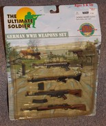 Vintage 1999 21st Century Toys Ultimate Soldier German WW2 Weapons Set NIP - $24.99