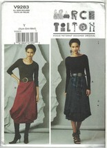 Vogue 9283 Marcy Tilton Bell Shaped Bubble Skirt Pattern Size 4 6 8 10 12 14 UC - $11.20