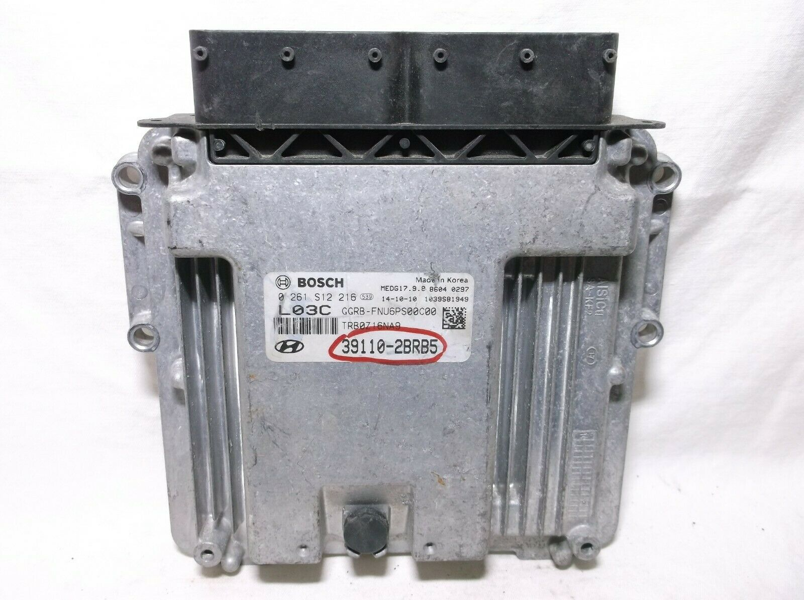 Primary image for 15-17  HYUNDAI  ACCENT 1.6L AUTO/  ENGINE CONTROL//COMPUTER/ECU.PCM.OEM