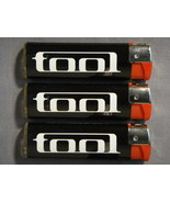TOOL LOGO REFILLABLE CIGARETTE LIGHTERS SET OF 3 NEW - $3.95