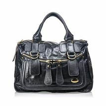 Pre-Loved Chloe Black Others Leather Bay Handbag France - $335.67