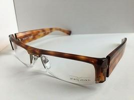 New ALAIN MIKLI AL0885 AL 0885 0002 56mm Havana Eyeglasses Frame France - $389.39