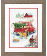 Counted Cross Stitch Kit by Dimensions Winter Ride - $46.80