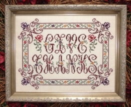 Give Thanks MBT114 cross stitch chart My Big Toe Designs - $8.00