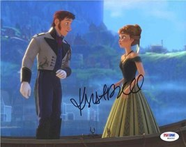 Kristen Bell Frozen Signed 8x10 Photo Certified Authentic PSA/DNA COA - $296.99