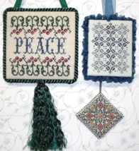 Christmas Pinkies III MBT115 cross stitch chart My Big Toe Designs - $8.00