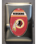 WASHINGTON REDSKINS TIN MULTI PURPOSE CASE / CIGARETTE CASE NEW NFL - $7.50