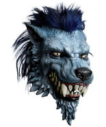 WORLD OF WARCRAFT DELUXE WARGEN MASK OVER THE HEAD WITH HAIR ADULT LATEX - $28.79