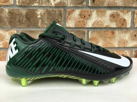 Men's Nike Vapor Carbon Elite Football Cleats Black Green 657441-022 Siz... - $38.00