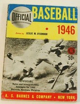 1946 Official Baseball Official Rules A.S. Barnes - $9.89