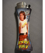 WWE WRESTLER ROWDY RODDY PIPER BLUE JUMBO CURVE LIGHTER WITH BOTTLE OPEN... - $5.74