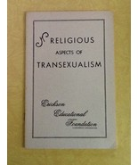 Religious Aspects of Transexualism Booklet 1971 - $0.99