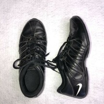 Nike Musique Womens 6.5 Black Leather Shoes 324751-011 Sneakers - $33.85