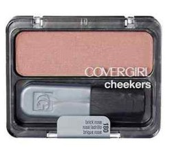 CoverGirl Cheekers Blush, Brick Rose [180], 0.12 oz - $4.99