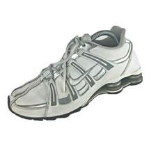 Nike Shox Turbo SL Womens Size 9.5 Running Shoe 343656-112 White Metalli... - €42,53 EUR