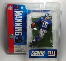 Eli Manning New York Giants NFL McFarlane action figure NIB NY G-MEN Series 13 - $51.97