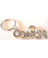 3D Pewter Volleyball Coach Keychain Keyring Key Chain - 2pc/pack - $11.99
