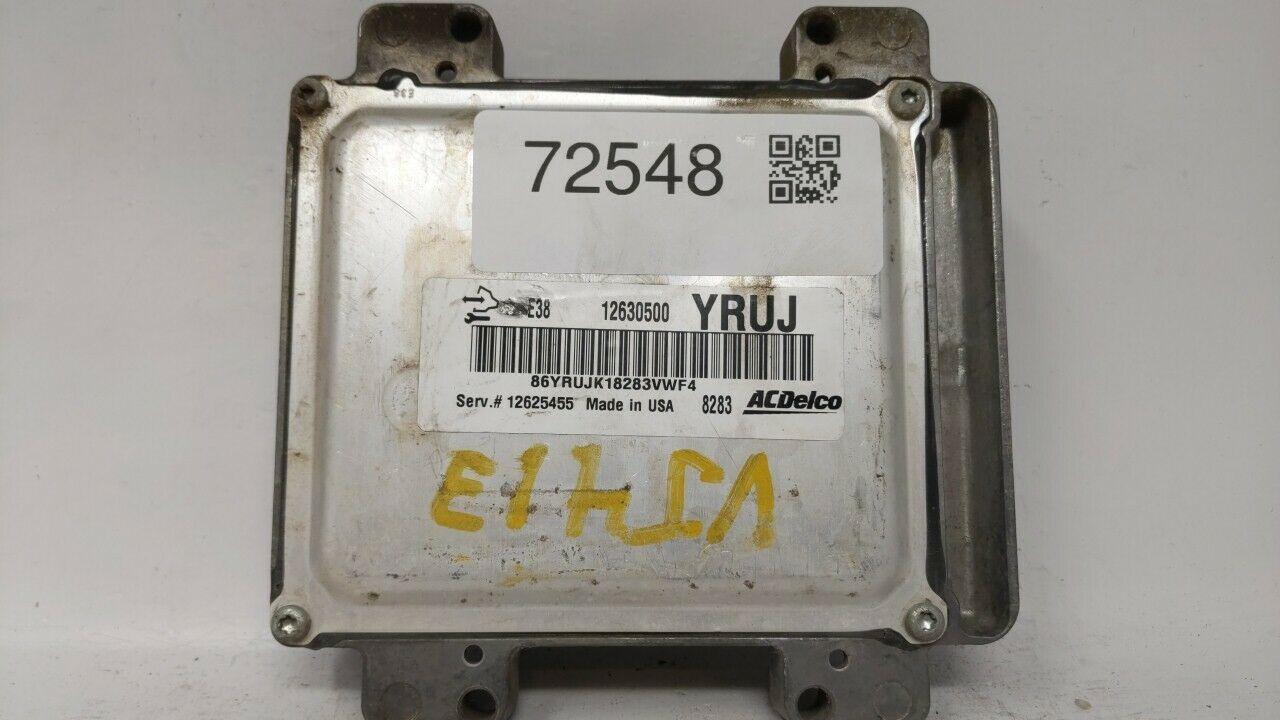 2009-2009 Gmc Sierra 1500 Engine Computer Ecu Pcm Ecm Pcu Oem 72548 - $120.31