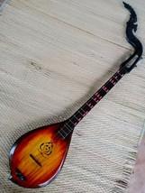 100% Thai Isaan Phin mandolin folk musical instrument, Teak, wonderful s... - $173.25