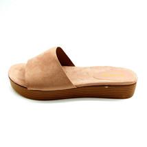Bamboo Womans Gigi-02 Platform Slide Sandal Beige Cushioned Insole Sz 10... - $17.80