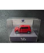 TOYOTA bB LED Light Keychain Light Red Pull Back Mini Car Japan - $24.95