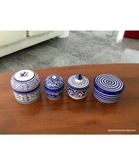 Handmade box , box for jewelry , Moroccan ceramic box , Moroccan ceramic - $130.00